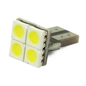 Interlook LED auto žárovka LED W5W T10 4 SMD 5050 CAN BUS FRONT